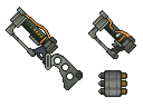 Fallout 3 - Laser sprites by NoirEater