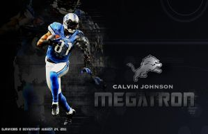 Calvin Johnson Megatron by Djray1985