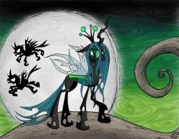 Queen of the Changelings by moloko-plus