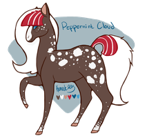Peppermint Cloud Reference Sheet by Kama-ItaeteXIII
