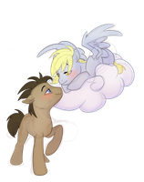 Derpy and the doctor by Psychoon
