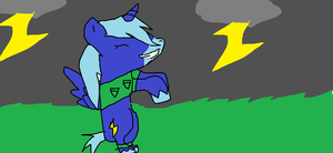 Yay Thunder! by Demonthewolf456789