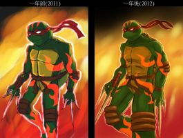 Raphael(remake) by 000123456