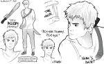The Maze Runner character sheets: Newt by MrsKanda