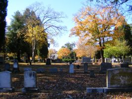 Autumn Cemetery 05 by DKD-Stock