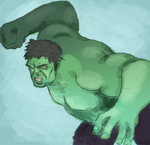 Hulk Speedpaint by riksa90