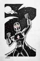 Darkhawk NYCC 2015 by BillWalko