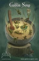 Goblins Drool, Fairies Rule - Goblin Soup by gameogami