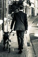 Walking dog by Ironscopics