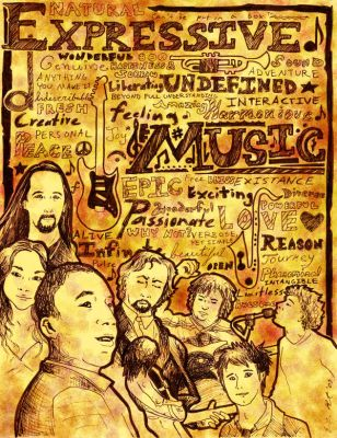 Music Poster by MichiyoYlaitsuki