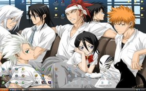 Bleach Desktop Wallpaper by mizuri-ookami