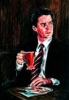 Twin peaks: Agent Cooper by the-ChooK