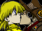 Seras and Pip by Noah-Spencer-Bateson