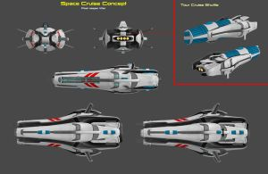 Space Cruise Concept by nach77