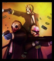 Payday 2 Fun Time by impendingriot