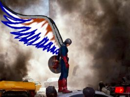 The first winged avenger by TacoDestroyerAvenger