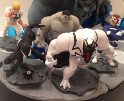 Marvel Disney Infinity 2.0 customs Wave 1 by Derrico13