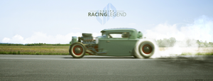 Burnout of 1930 Ford Model A Coupe Hot Rod by BuseHase