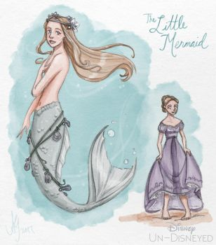 Disney Un-Disneyed: The Little Mermaid (P) by kuabci