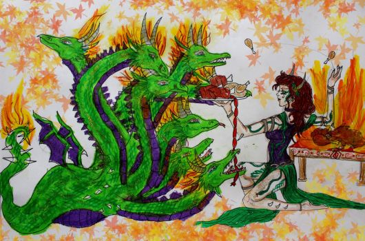 Feeding the Hydra by chaosqueen122