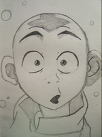 When Aang sees Katara by aanglove