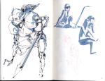 Pages from my Sketchbook by victoria-ying