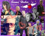 Samu Haber Photo Collage Wallpaper 2. by MrsCromwell