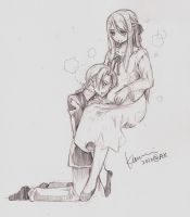 Pregnant Ed and Winry by Kamui by pstaight