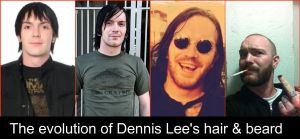 The evolution of Dennis Lee by Alesana32