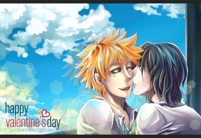 Happy Valentine's Day 2012 by Ze-RoFruits