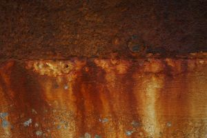 Bleeding Rust Texture I by EverythingIsInStock