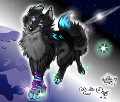 Galaxy-Wolf Drakengrad Contest by Dragonfruit93