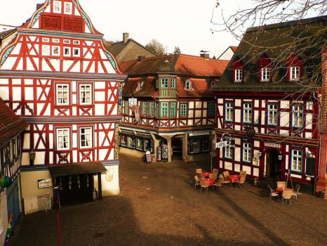 small german town 1 by strawberry1234