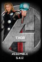 Avengers Standee: Thor by Marvel-Freshman