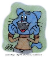 TAWOG - Gumball Watterson by AK-Is-Harmless