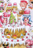 SF's Christmas Party by MARKCW