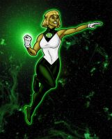 Green Lantern: Arisia by north-green