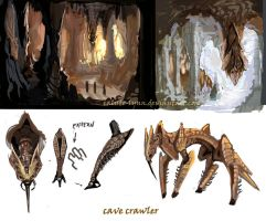 sketches of doom 4 by calisto-lynn