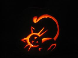 162. Pumpkin Carving by mynti-stock