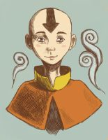 Aang by sentienttree