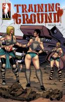 Training Ground - Space Amazons by giantess-fan-comics