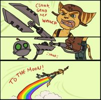 Clank, grab my... by Gashu-Monsata