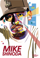 Mike Shinoda in WPAP 3 by setobuje