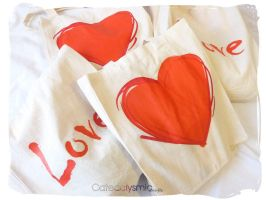 Lovely Lucky Bags by Cateaclysmic