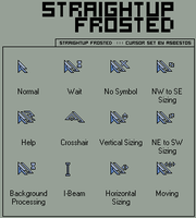 straightup frosted by asbestos