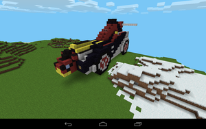 Minecraft GoBusters CB-01 by Jamesgames2k