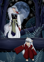 Inuyasha: Hide-and-seek with Sesshoumaru by Neocco