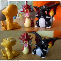 Completed Order (2) Pokemon Repaints by PleinairBunny