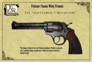 The Gentleman's Revolver by davincisghost