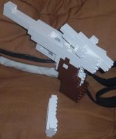 Lego Armory P08 Luger ver 1.0 by kliefox